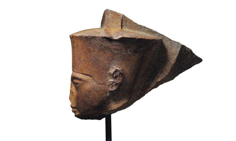 Egypt demands Christie's halt auction of King Tut statue