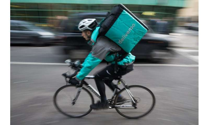 Employee or contractor? Food delivery pladforms such as Deliveroo are under pressure over the status of their riders
