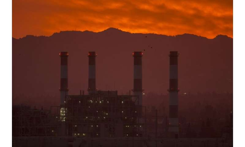 Energy-related CO2 emissions in the United States, such as this gas-powered generating station in California, rose in 2018, acco