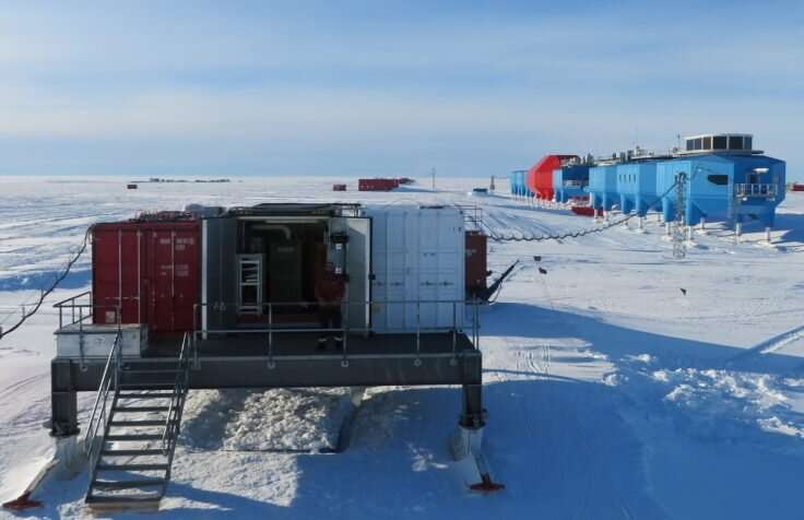 Engineers automate science from remote Antarctic station