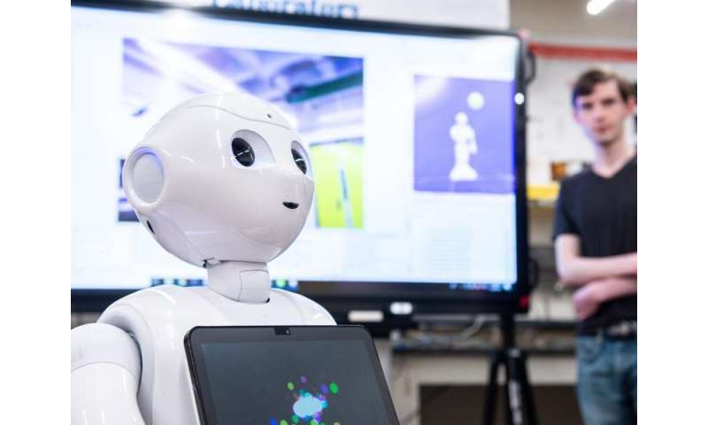 """Enhanced robot """"vision"""" enables more natural interaction with humans"""
