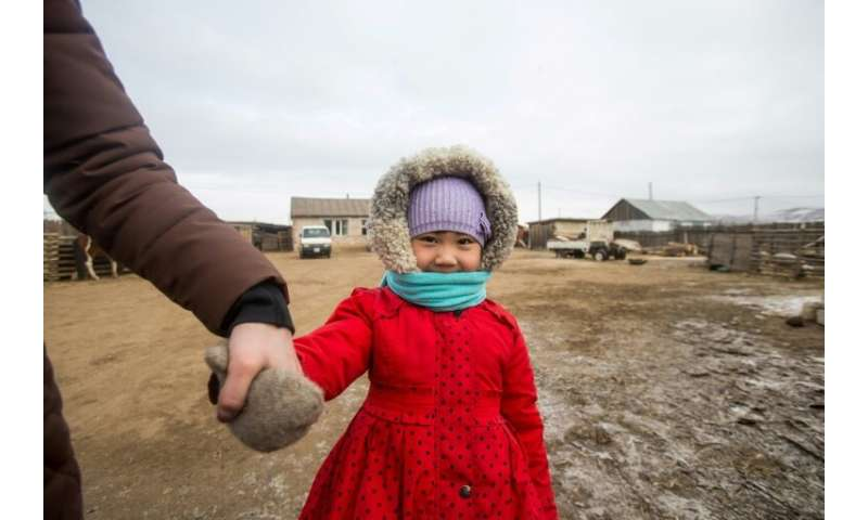 Erdene-Bat Naranchimeg's daughter Amina battled illness virtually from birth, her immune system handicapped by the smog-choked a