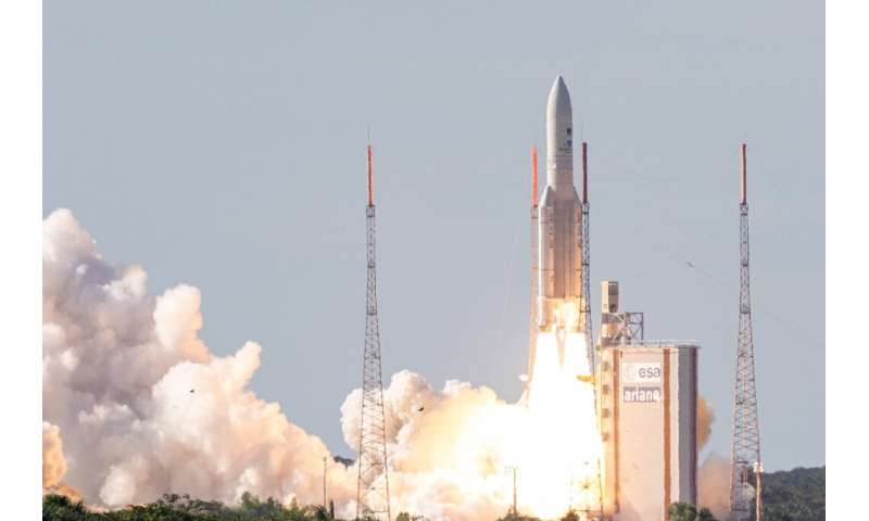 Europe must build on its successes, such as Ariane 5 rocket, seen here lifting off from the European Space Center in French Guia