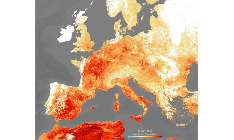 Europe warming faster than expected due to climate change