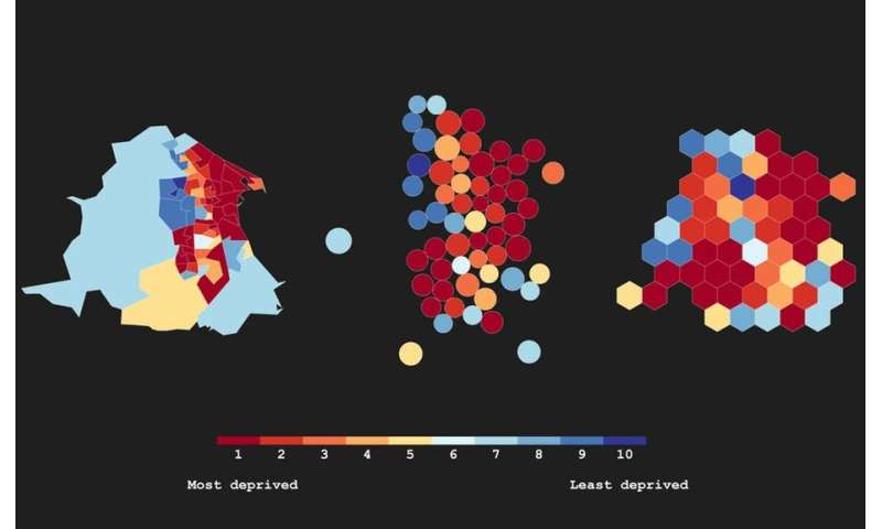 Even the most beautiful maps can be misleading