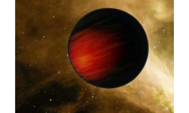 Exoplanet orbits its star every 18 hours