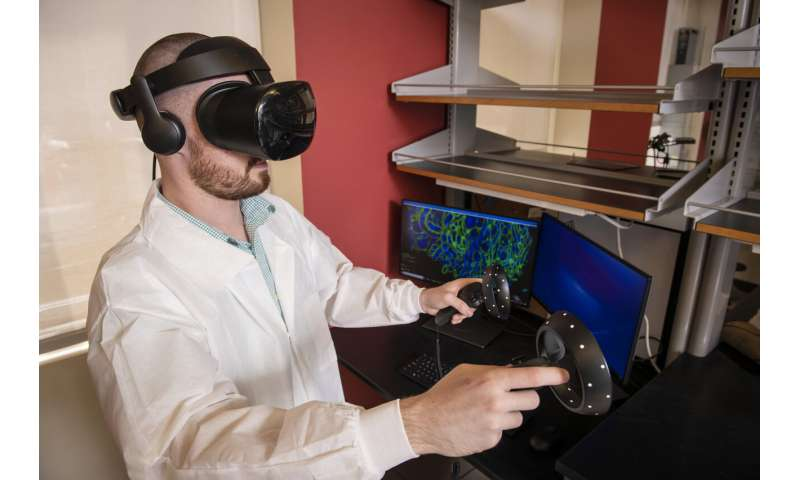 Expansion microscopy and virtual reality illuminate new ways to prevent and treat disease