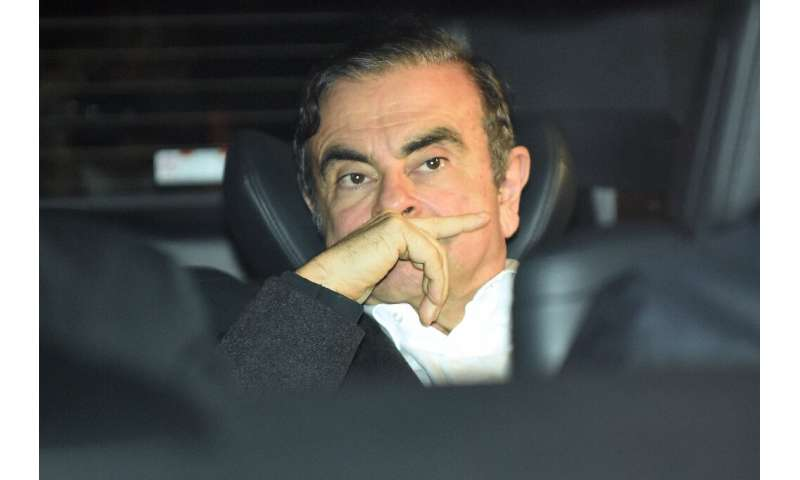 Ex Renault-Nissan chief executive Carlos Ghosn faces a shareholder's complaint in connection with 11 million euros in questionab