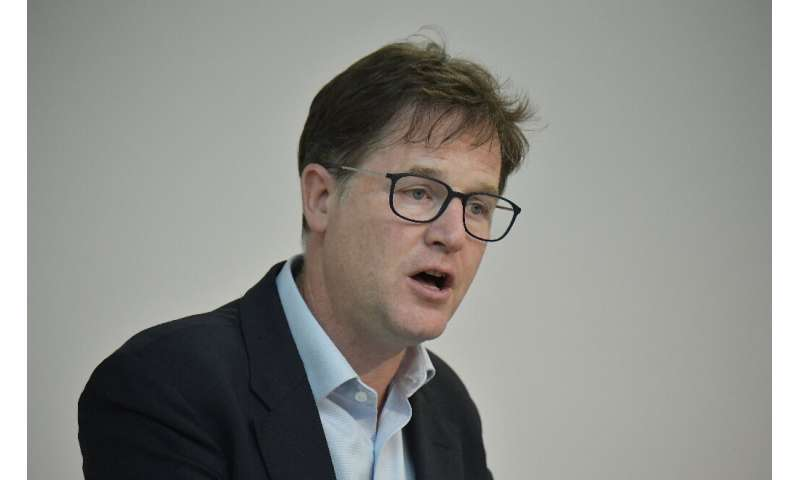 Facebook's vice president Nick Clegg:'It's not for private companies, however big or small, to come up with those rules'