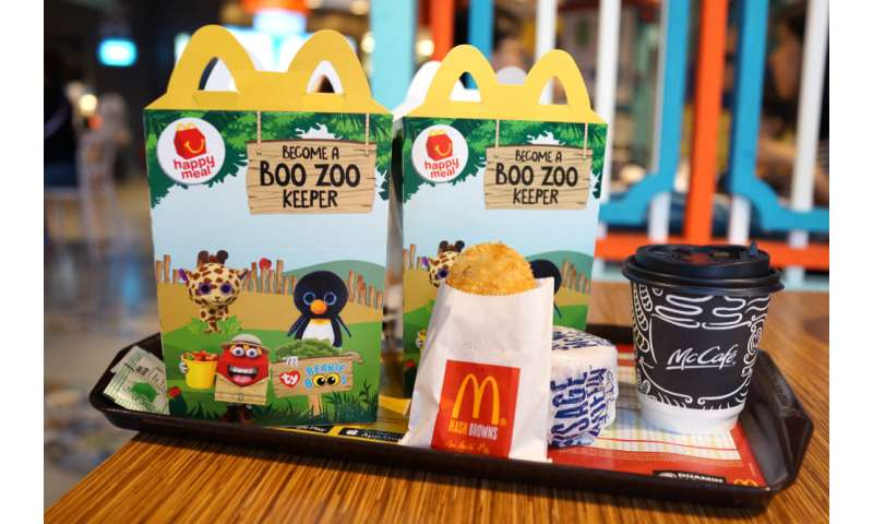 Fast-food chains use cute animal toys to market meat to children – new vegan ranges pose a dilemma