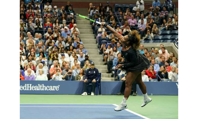 Fast serves don't make sense – unless you factor in physics