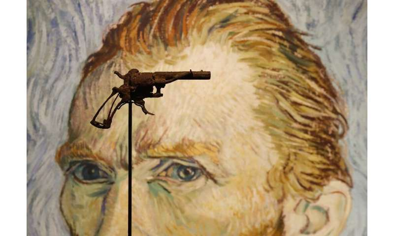 Fatal weapon: The revolver Vincent Van Gogh is believed to have shot himself with was found in a field by a farmer in 1965, 75 y