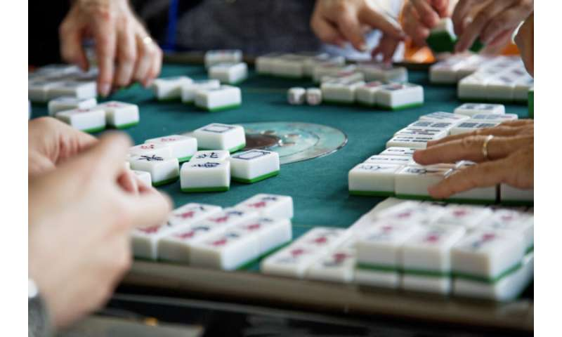 Feeling depressed? Mahjong might be the answer