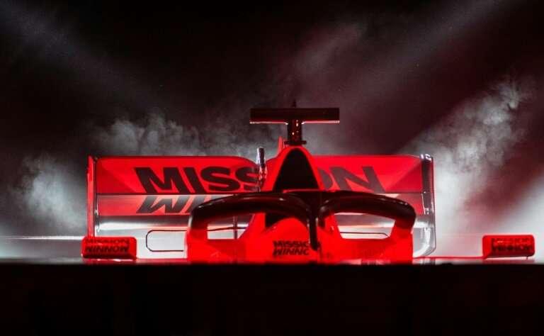 Ferraris car SF90 car for the 2019 season features the Mission Winnow logo
