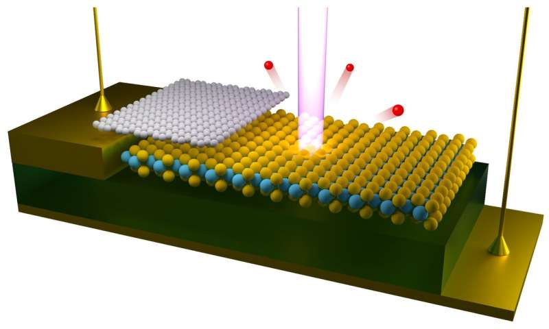 First-ever visualizations of electrical gating effects on electronic structure
