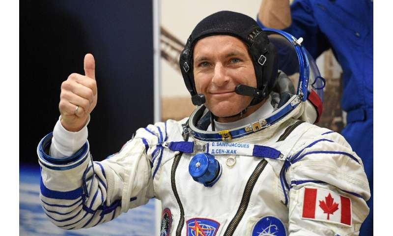 First-timer David Saint-Jacques of Canada broke the record for the longest single spaceflight by a Canadian astronaut at 204 day