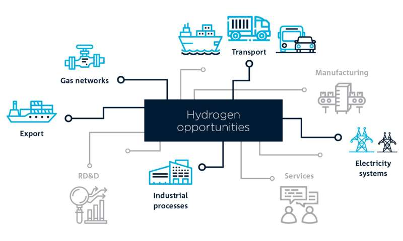 Five key opportunities identified for hydrogen industry growth