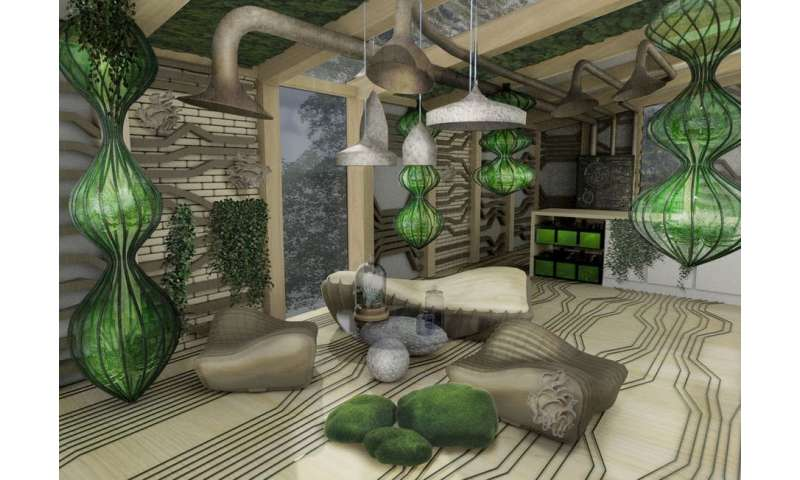 Five ways buildings of the future will use biotech to become living things