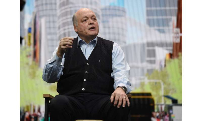Ford Chief Executive Jim Hackett is scheduled to appear Friday at a news conference with Volkswagen Chief Executive Herbert Dies