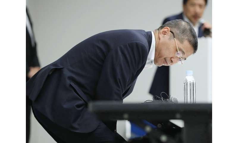 Former CEO Hiroto Saikawa resigned after it emerged he benefitted from a bonus scheme