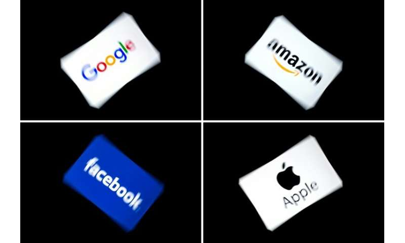 "France has been driving hard for a new so-called ""GAFA tax""—named after Google, Apple, Facebook and Amazon—to ensure t"