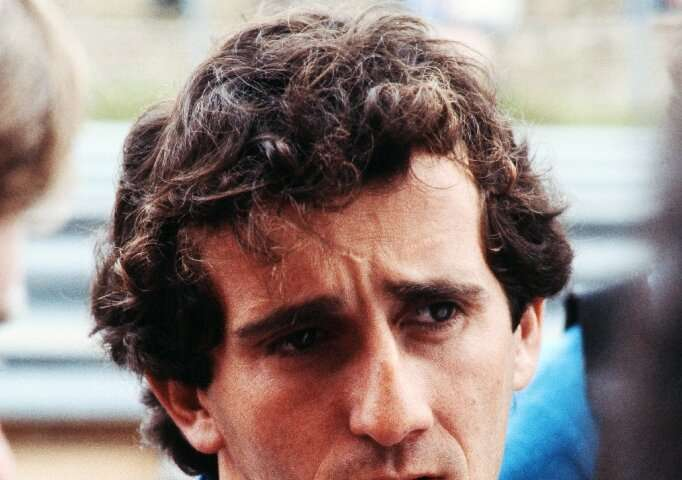 "French Formula One star Alain Prost, 14 at the time, says the landing was a moment which ""always stays with you"""