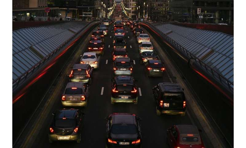 From 2021, any car that escapes the gridlock in Brussels will still be limited to only 30 kilometres per hour - less than 19 mph