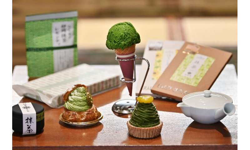 From matcha ice cream to cake and chocolate, producers of traditional Japanese green tea are capitalising on growing global inte