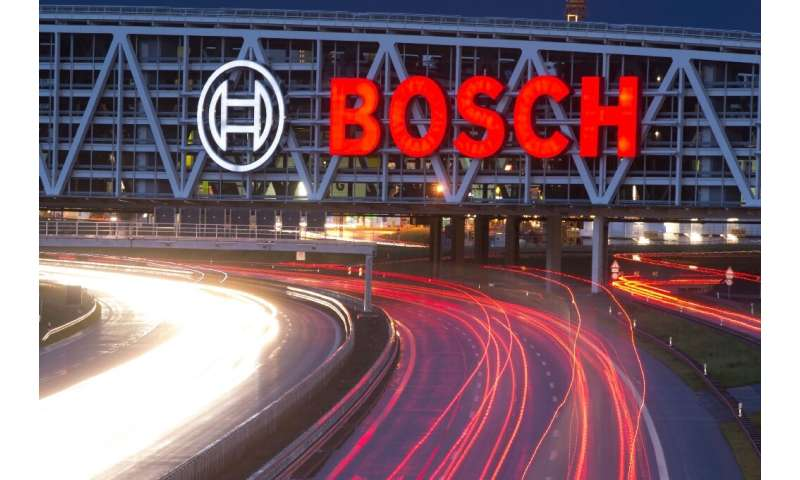 """German car parts supplier Bosch will pay a hefty fine for supplying components used in the """"dieselgate"""" scandal"""