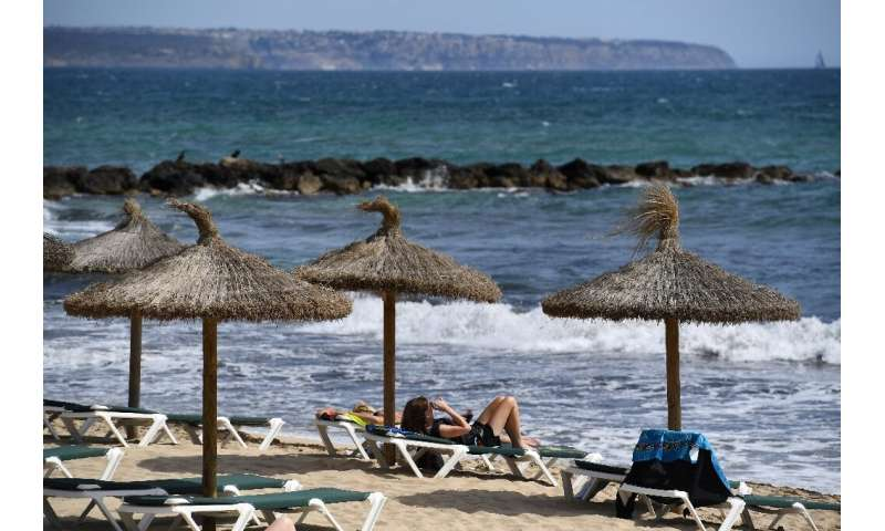 German holidaymakers may find it harder than planned to get to the beach in July