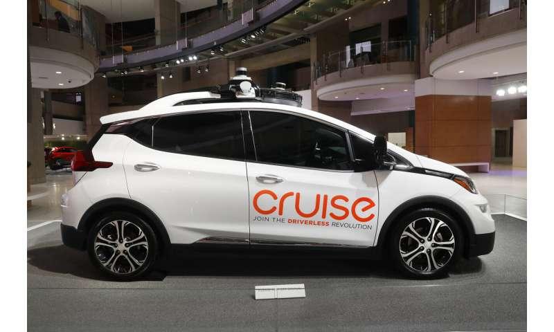 GM Cruise autonomous vehicle unit gets $1.15B investment