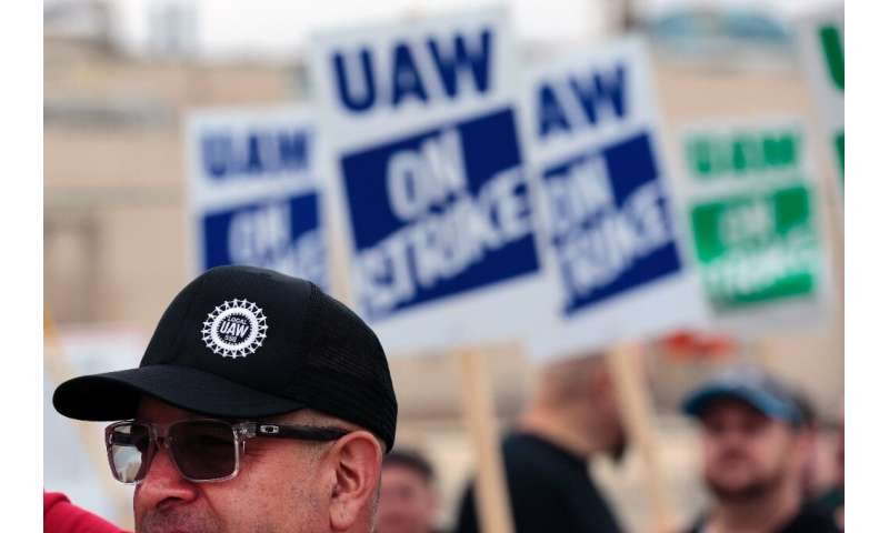 "GM workers went out on strike September 16, and union negotiators say talks have taken ""a turn for the worse"""