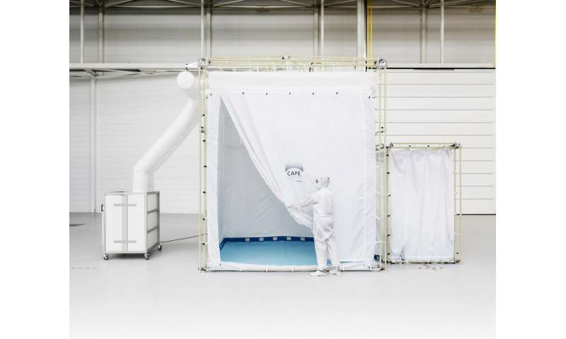 Go-anywhere cleanroom