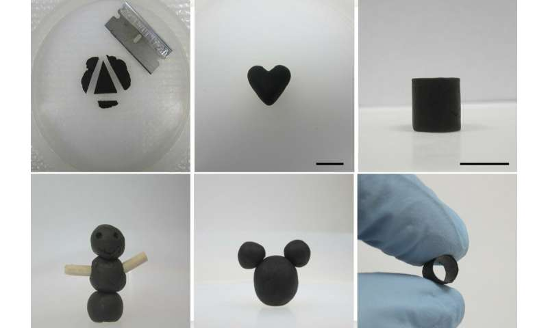 'GO dough' makes graphene easy to shape and mold