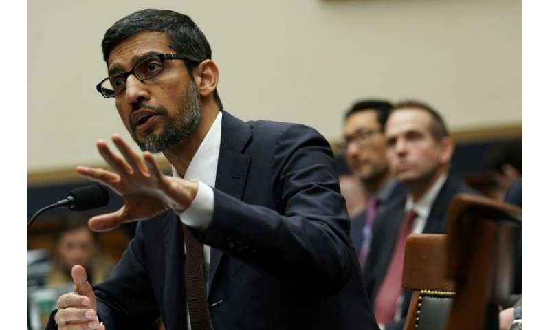 Google CEO Sundar Pichai told lawmakers in December the internet giant acknowledges a need for national privacy regulations