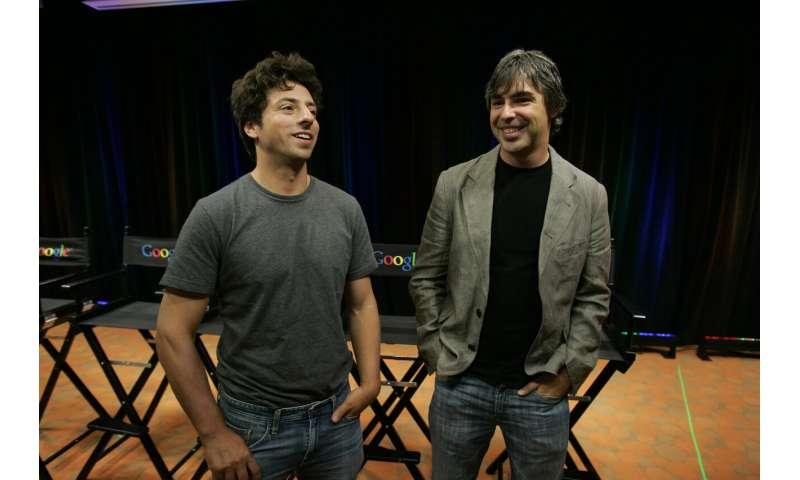 Google co-founders step down as execs of parent Alphabet
