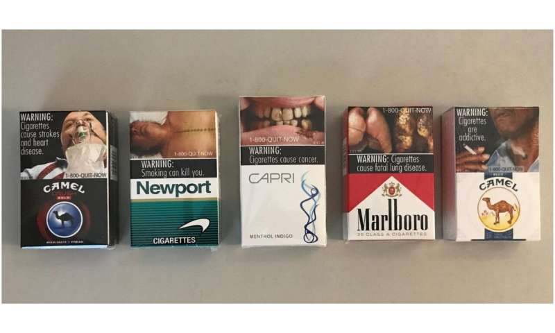 Graphic cigarette warning labels can deter some sales