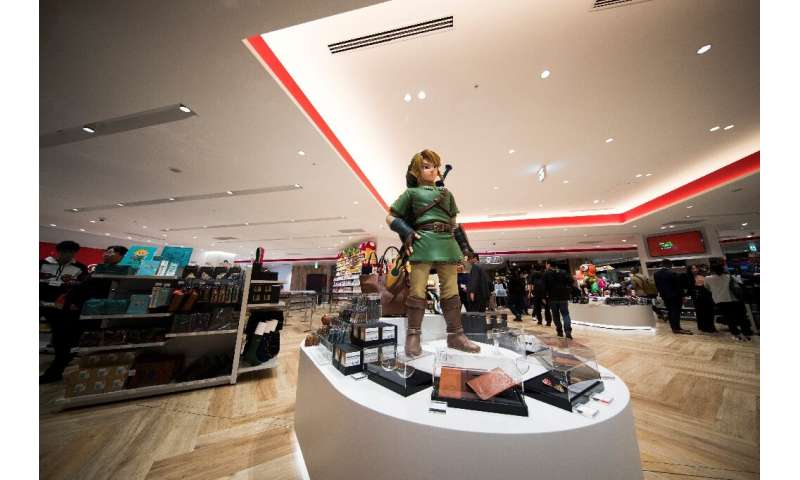 Half of the merchandise in Nintendo's store will be exclusively sold there