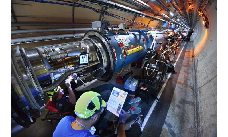 Halfway toward LHC consolidation