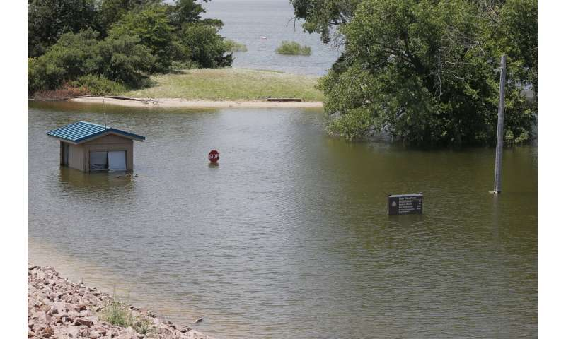 Heavy rainfall ends prolonged drought in Southern Plains