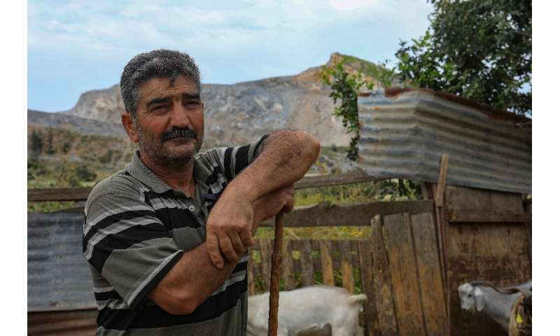 Herder Jamal says he will have to leave the mountain in northern Cyprus—where his goats have grazed for years—due to quarrying
