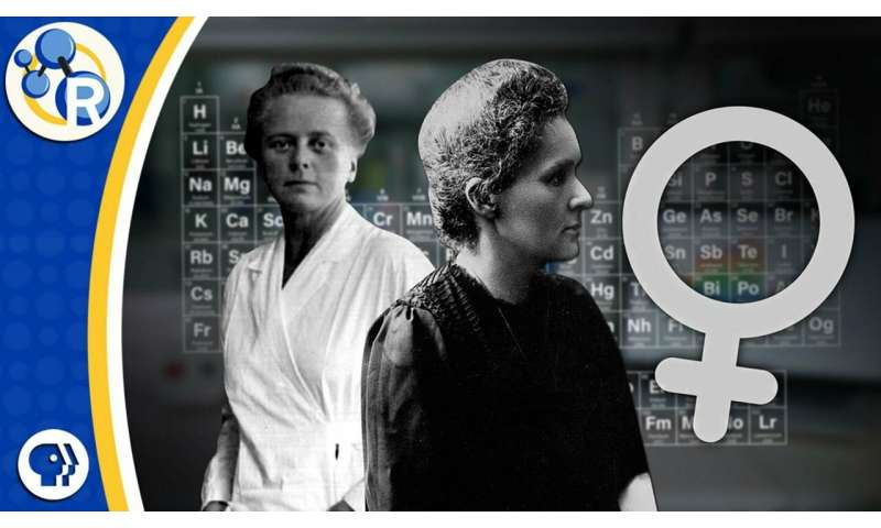 Heroines of the periodic table (video)