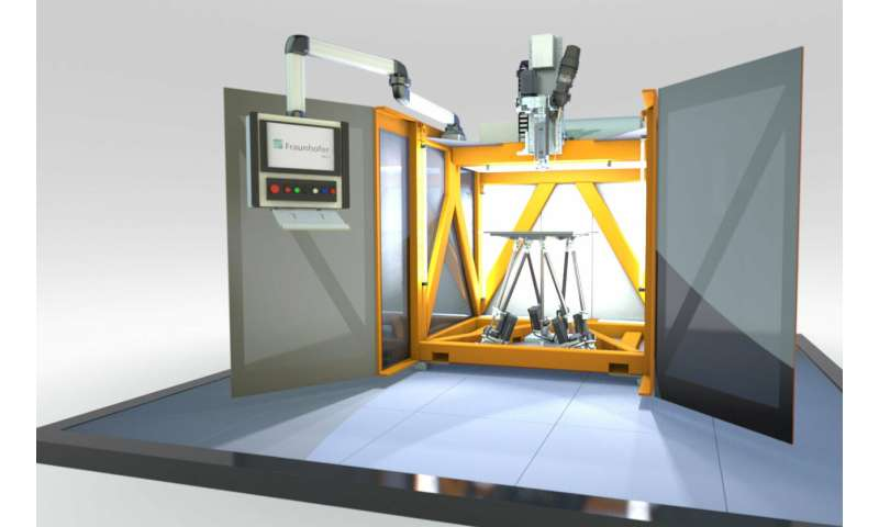 High-speed 3-D printer for high-performance plastics