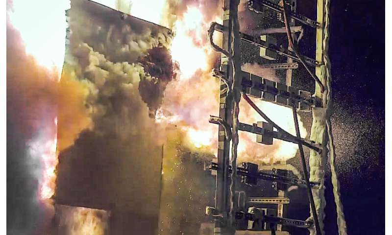 High-speed fire footage reveals key insights for power plant safety