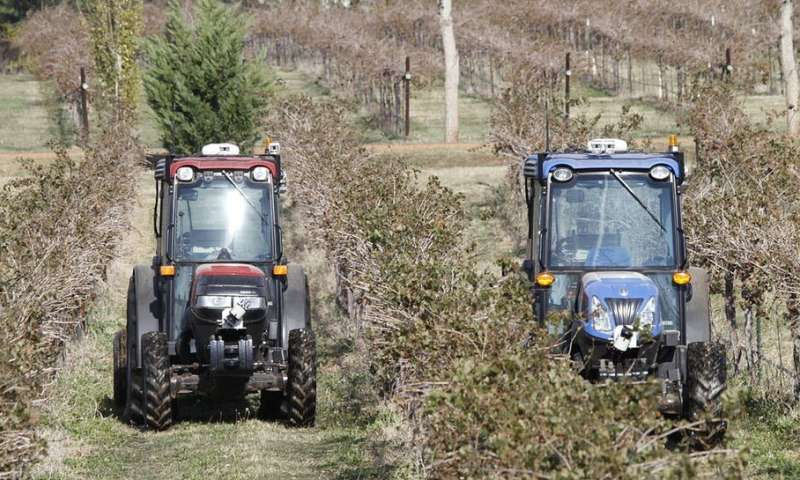 High-tech agriculture: farmers risk being 'locked in' tounsustainable practices