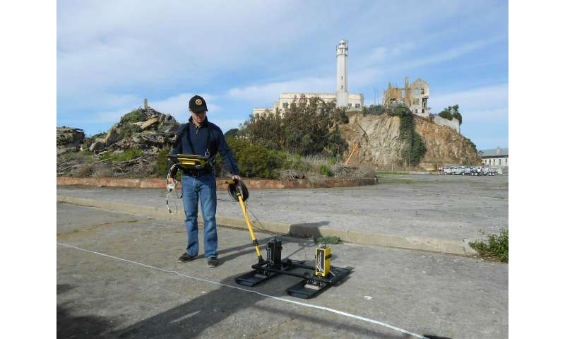 High-tech laser scans uncover hidden military traverse at Alcatraz Island