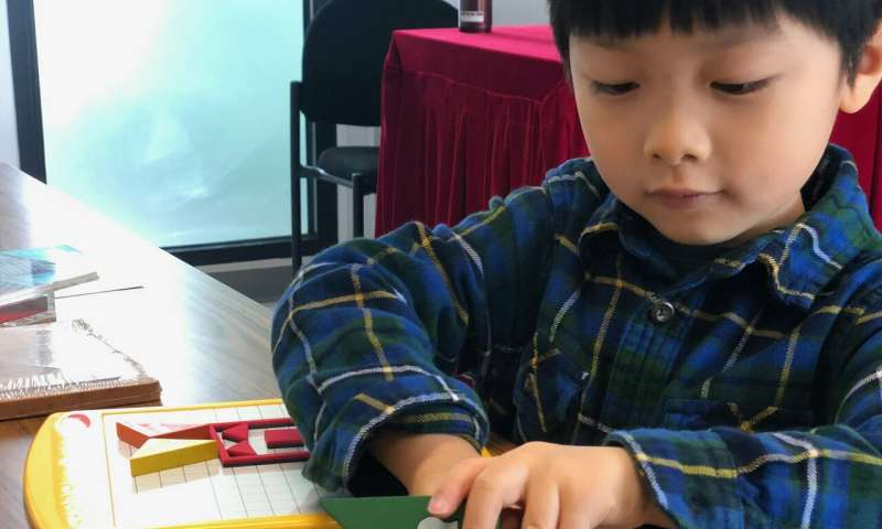 HKBU scholar invents new tangram games to test children's visual-related literacy skills