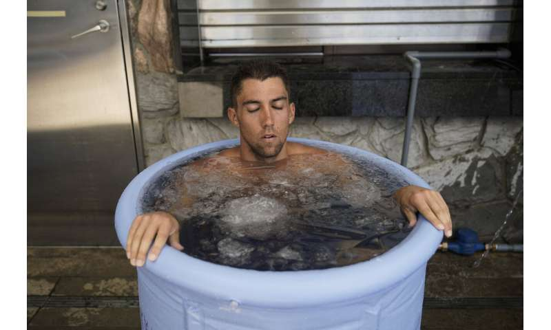 Hoses, ice packs help tame Tokyo heat before the Olympics