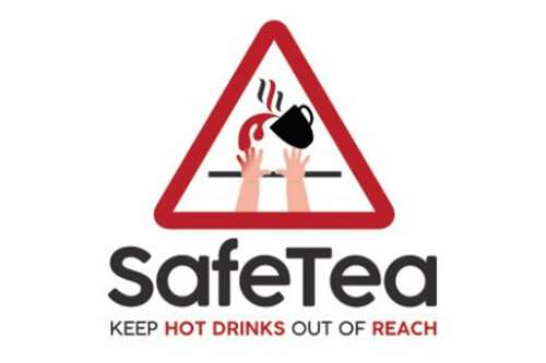 Hot drinks are the most common cause of burns to young children