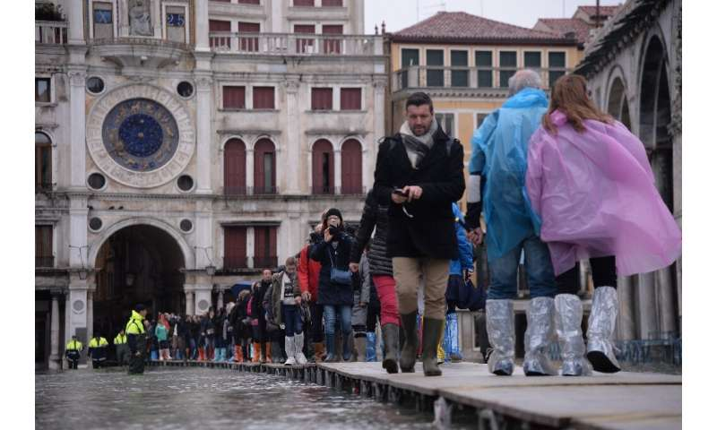 Hotels reported cancelled reservations, some as far ahead as December, following the widespread diffusion of images of Venice un